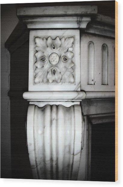 Rosette 1880 Wood Print