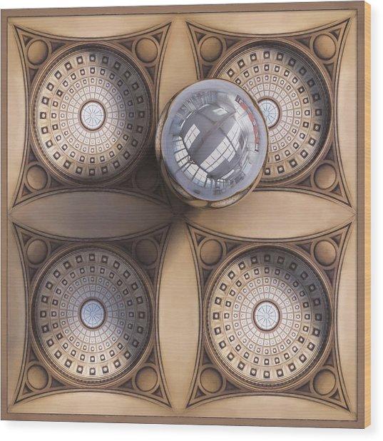 Rotunda 4 Ways Wood Print