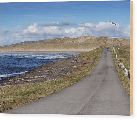 Rougey Walk - Tullan Strand - Bundoran - Stroll On The Beautiful Wild Atlantic Way, Ireland - Spring Wood Print