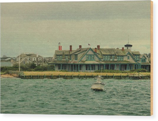 Nantucket Seas   Wood Print by JAMART Photography
