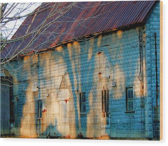 Rust Never Sleeps Wood Print