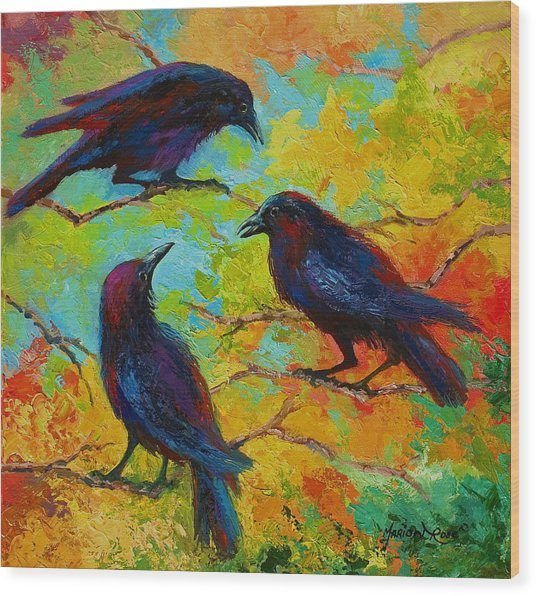 Roundtable Discussion - Crows Wood Print