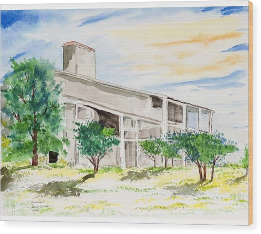 Rounsley Home Wood Print