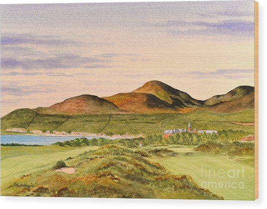 Royal County Down Golf Course Wood Print