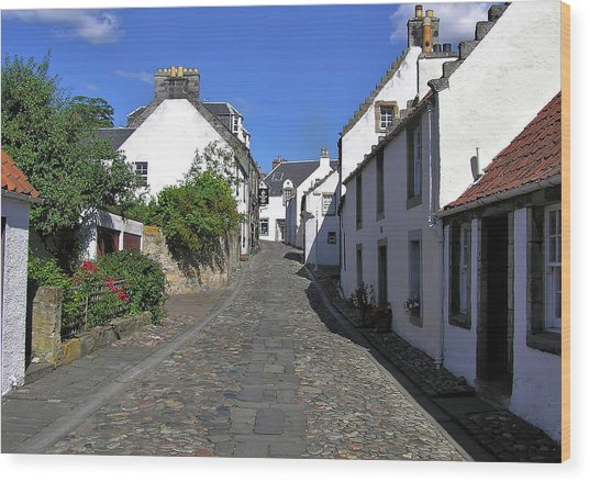 Royal Culross Wood Print