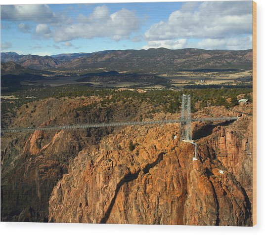 Royal Gorge Wood Print