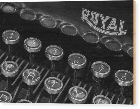 Royal Keys Wood Print