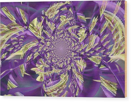 Royal Purple  Wood Print