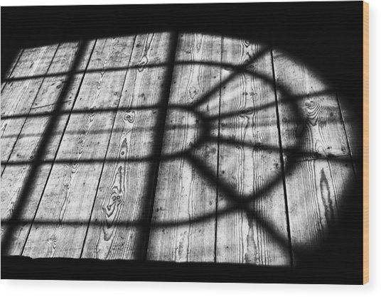 Royal Shadow Wood Print