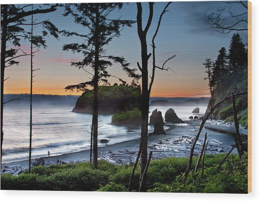 Ruby Beach #2 Wood Print
