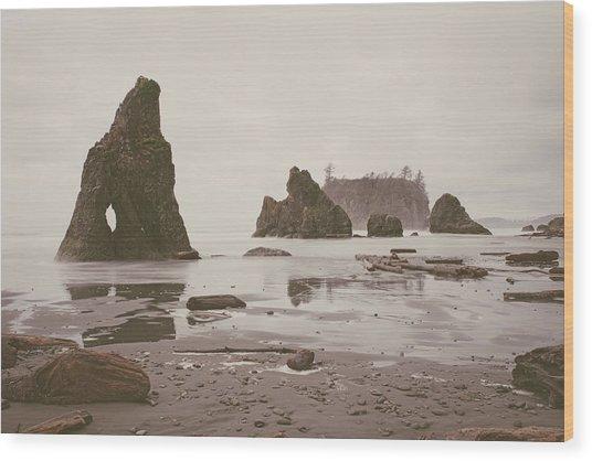Ruby Beach No. 14 Wood Print