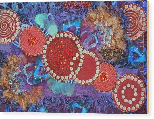 Ruby Slippers 1 Wood Print