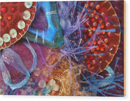Ruby Slippers 6 Wood Print