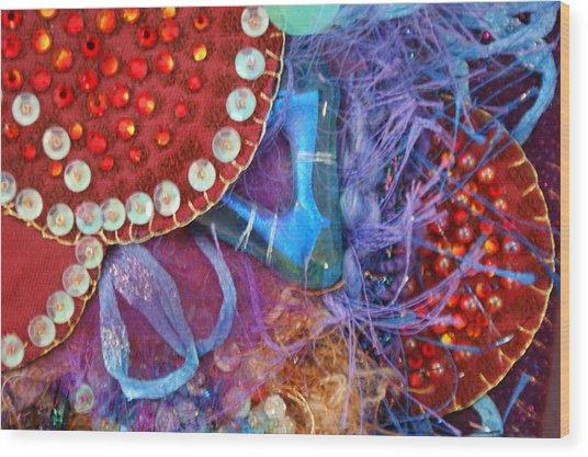 Ruby Slippers 7 Wood Print