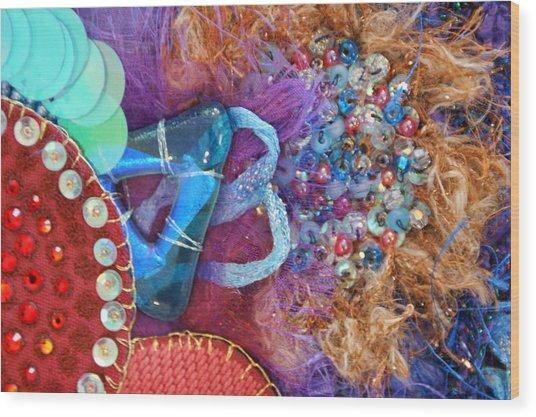 Ruby Slippers 8 Wood Print