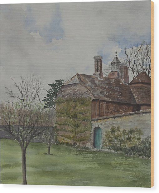 Rudyard Kipling's Bateman's Wood Print by Debbie Homewood