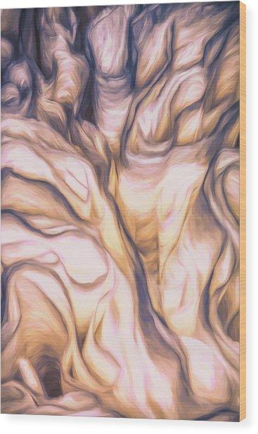 Ruffles Wood Print