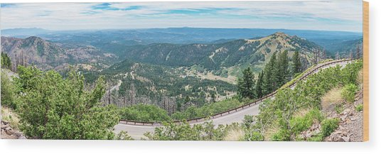 Ruidoso, Nm Panoramic Wood Print