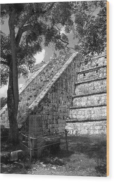 Ruins At Chichen Itza 1 Wood Print