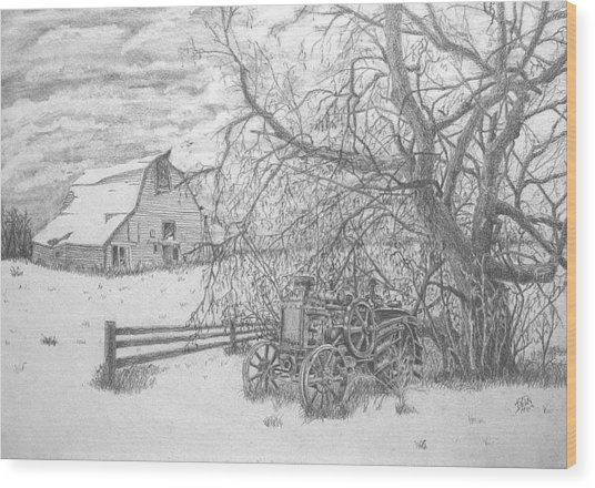 Rumbly Wood Print by Dean Herbert