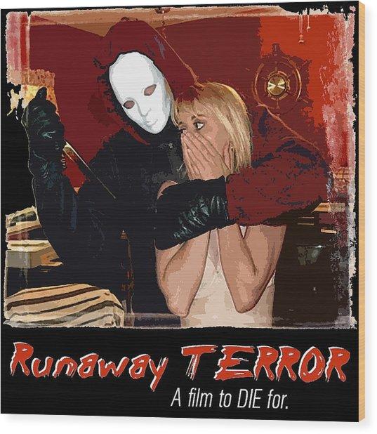 Runaway Terror 1 Wood Print