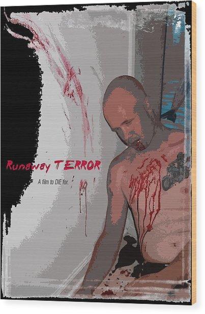 Runaway Terror 2 Wood Print