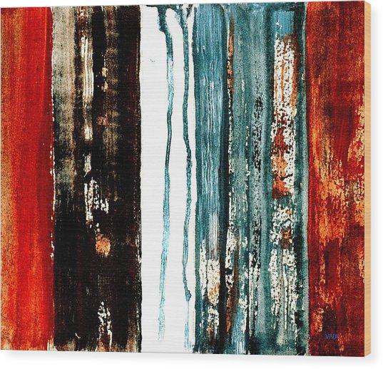 Rural Landscape 5 Wood Print