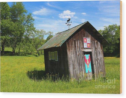 Rural Panache Wood Print