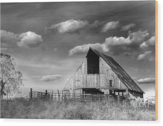 Rural Wood Print