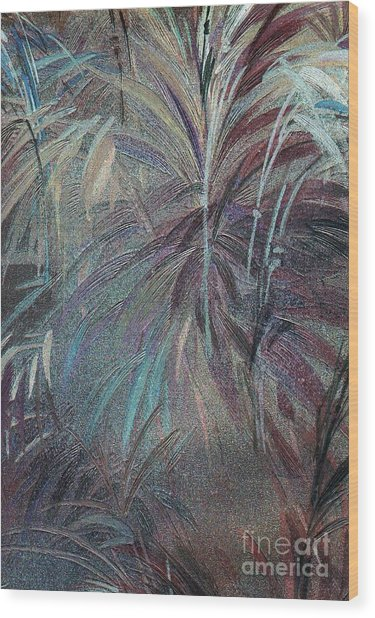 Wood Print featuring the mixed media Rush by Writermore Arts