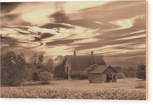 Rustic Barn 2 Wood Print
