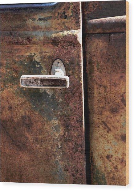Rustic Wood Print by Bryan Steffy