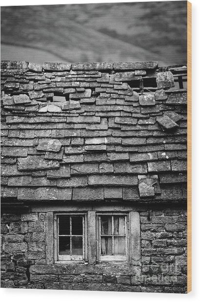Rustic Cottage Wood Print