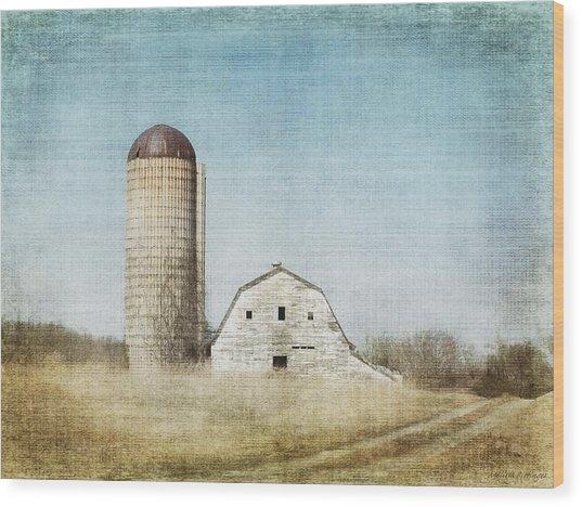 Rustic Dairy Barn Wood Print