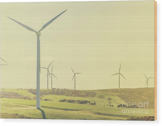 Rustic Renewables Wood Print