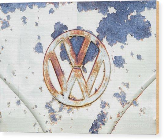 Rustorating Wood Print
