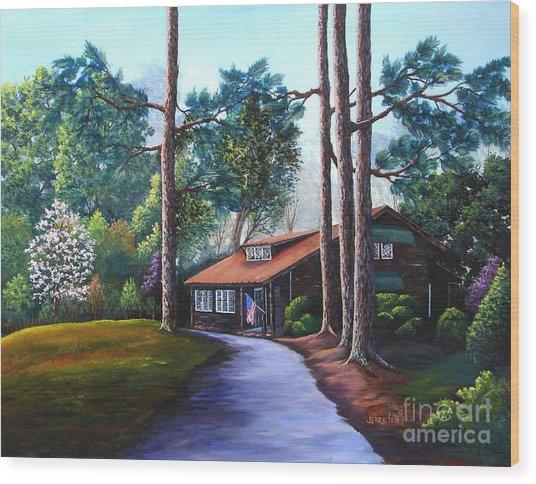Rutland Tea Room Wood Print