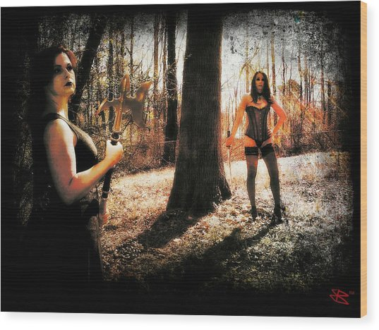 Ryli And Nancy 1 Wood Print
