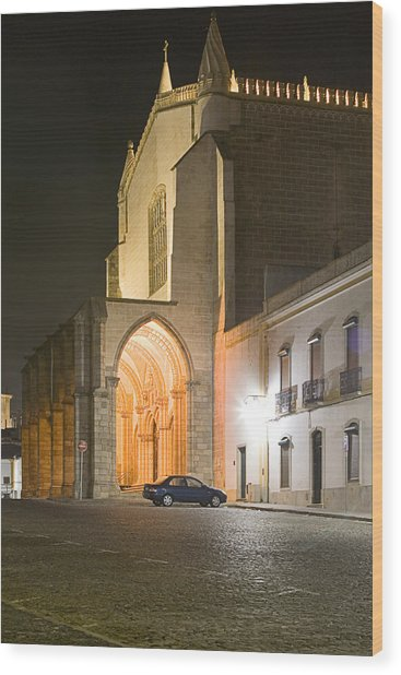 S. Francisco Church Wood Print by Andre Goncalves