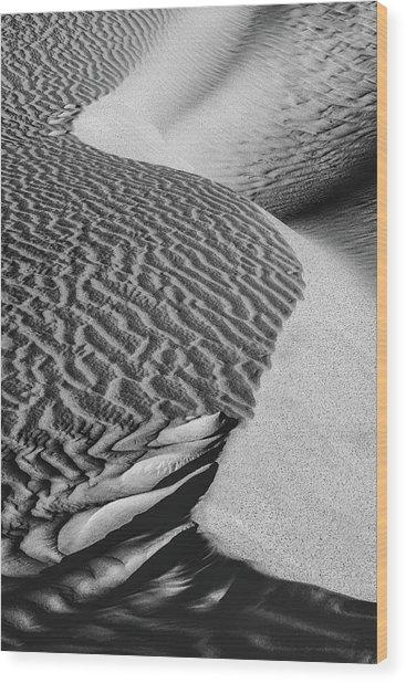 S-s-sand Wood Print