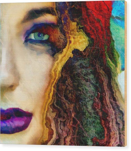 Sabrina Wood Print