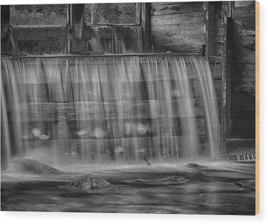 Saco River 6199 Wood Print