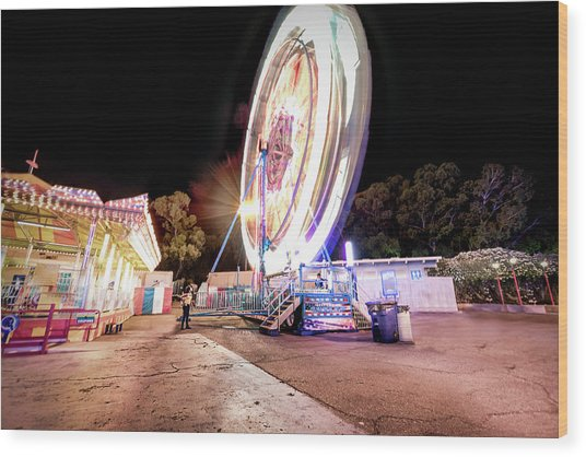Sacramento State Fair- Wood Print