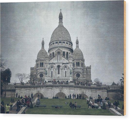 Sacre Coeur Paris II Wood Print