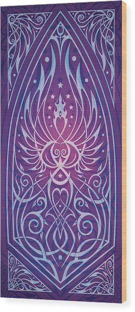 Sacred Feminine Wood Print by Cristina McAllister