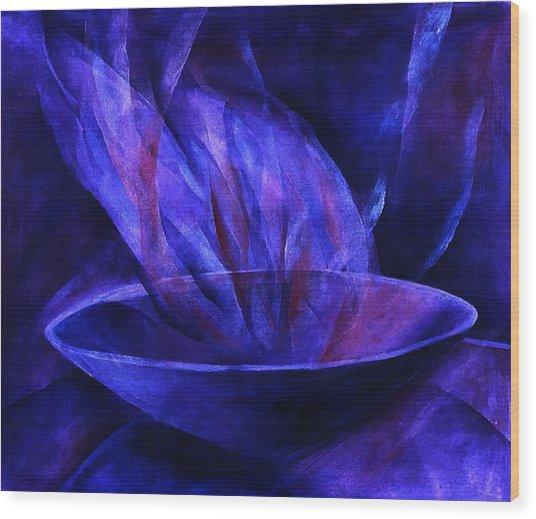 Sacred Vessel II Wood Print by Sue Reed