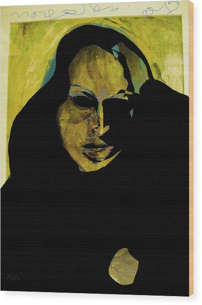 Sadness Wood Print by Noredin Morgan