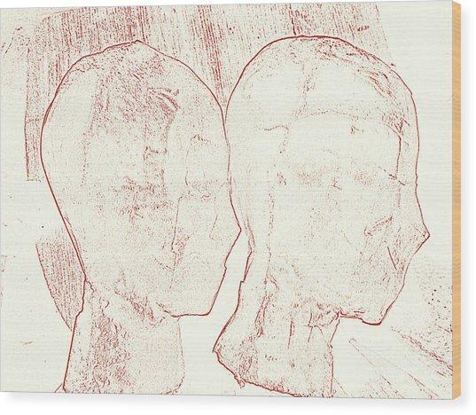 Safely Forgotten Wood Print