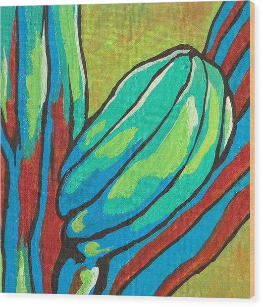 Saguaro 15 Wood Print