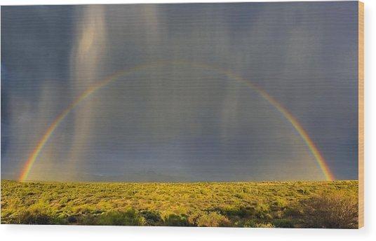 Saguaro Glory Wood Print